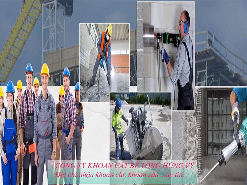 Giới thiệu công ty Khoan cắt bê tông Hùng Vỹ Giá rẻ chuyên nghiệp