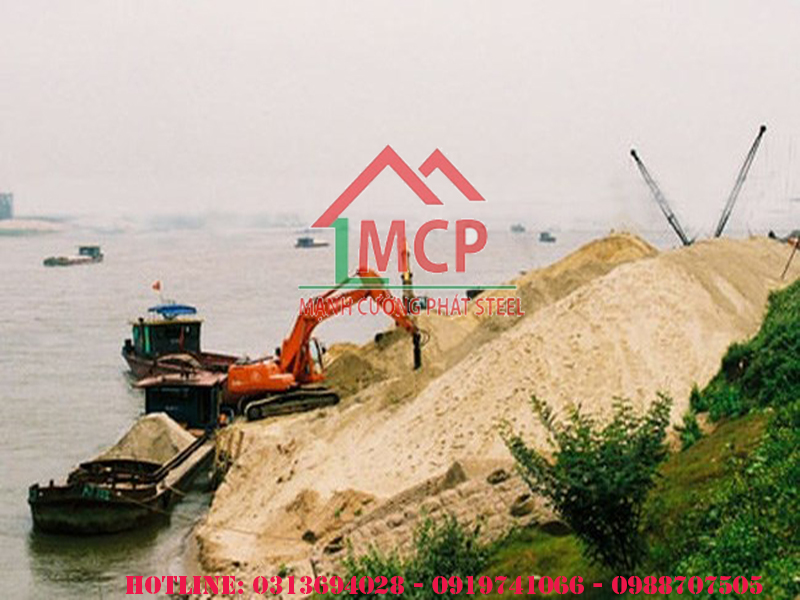 Báo giá cát đổ bê tông xây dựng giá rẻ (Cập nhật năm 2020) tại Tphcm