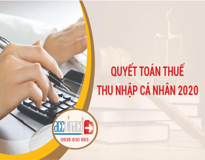 Dịch vụ quyết toán thuế TNCN giảm trừgia cảnh2020
