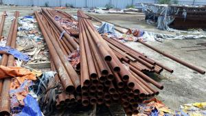Phế liệu sắt thép được thu mua giá cao